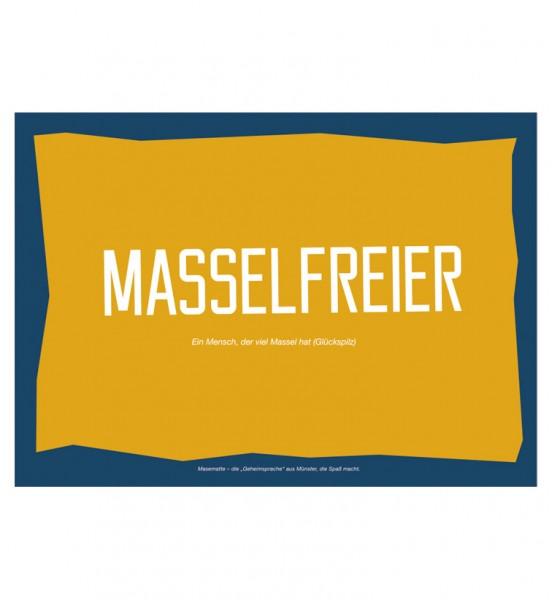 Postkarte - Masselfreier