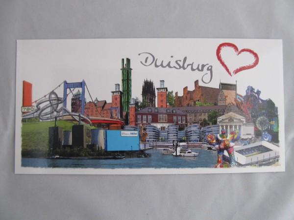 Postkarte- Duisburg