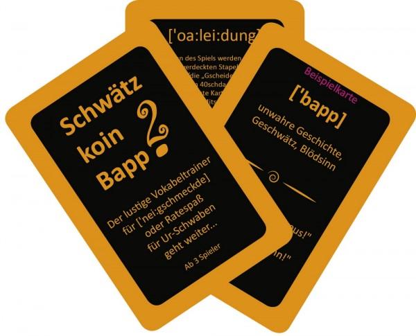 Kartenspiel - Schwätz koin Bapp! 2