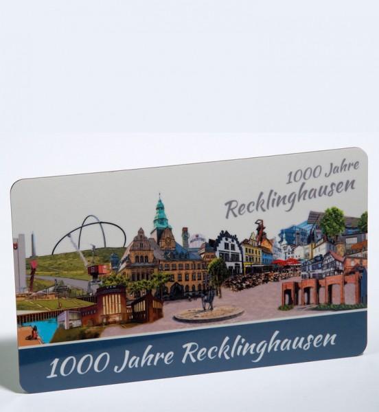 Frühstücksbrettchen - Röttgers - 1000 Jahre Recklinghausen