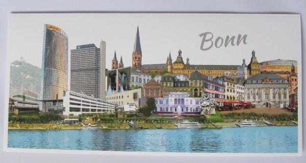 Grußkarte - Röttgers - Panorama Bonn