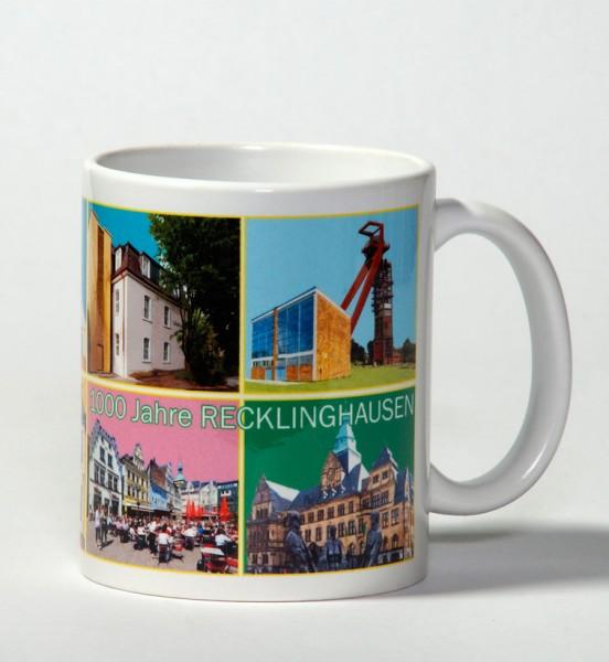 Tasse - Röttgers -1000 Jahre Recklinghausen - Landmarken