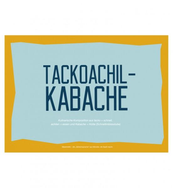Postkarte - Tackoachil-Kabache