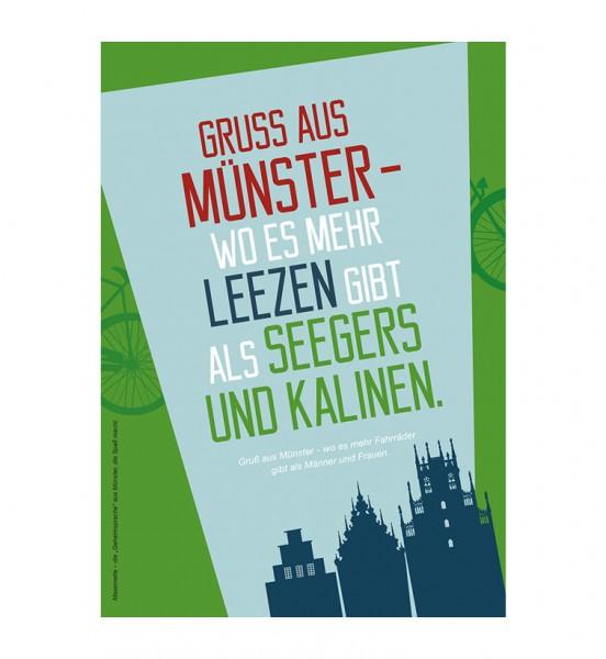 Grußkarte - Grüße aus Münster