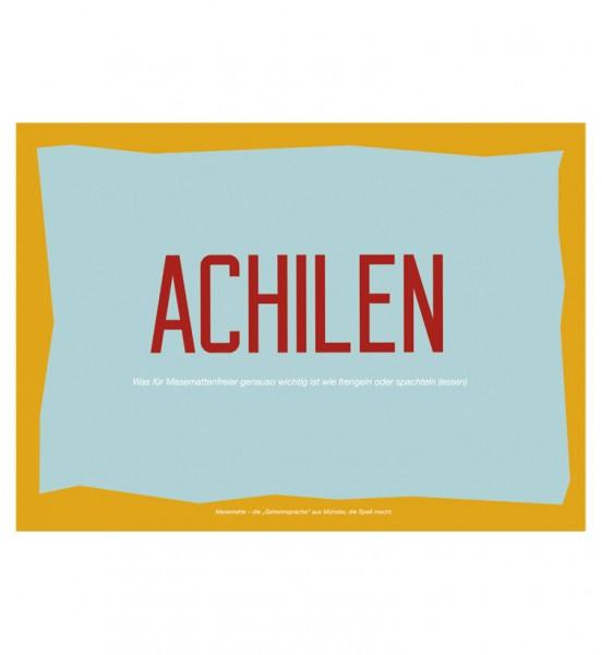 Postkarte - Achilen