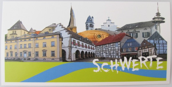 Postkarte - Röttgers - Panorama Schwerte