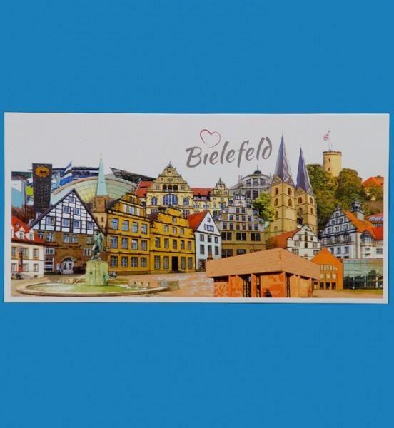 Panoramakarte - Röttgers - Bielefeld