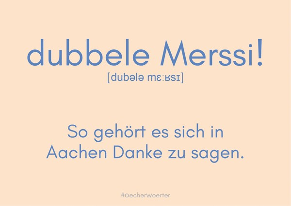 Postkarte- dubbele Merssi!