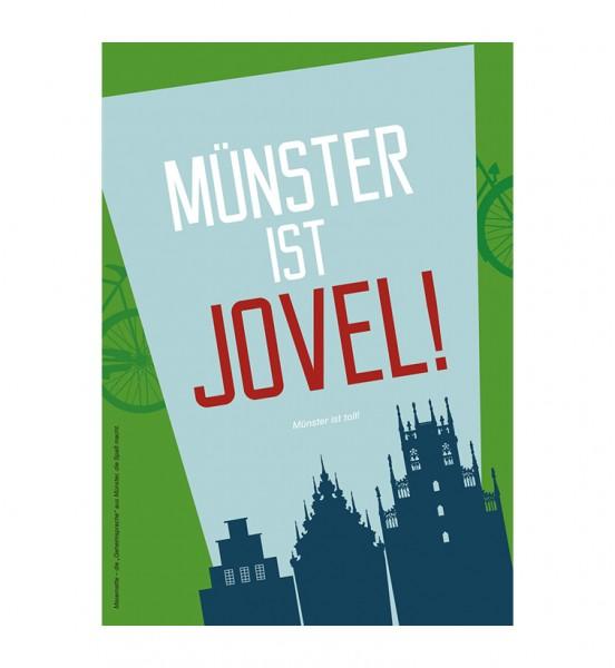 Grußkarte - Münster ist jovel!