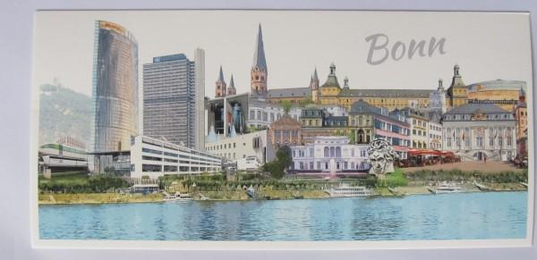 Postkarte - Röttgers - Panorama Bonn