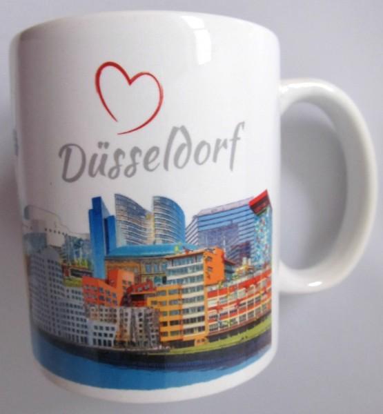 Tasse - Röttgers - Panorama Düsseldorf