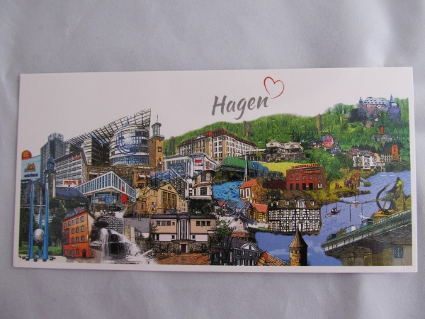 Postkarte- Hagen