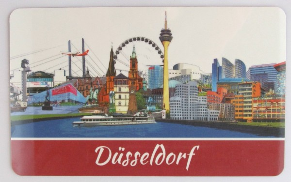 Frühstücksbrettchen - Düsseldorf