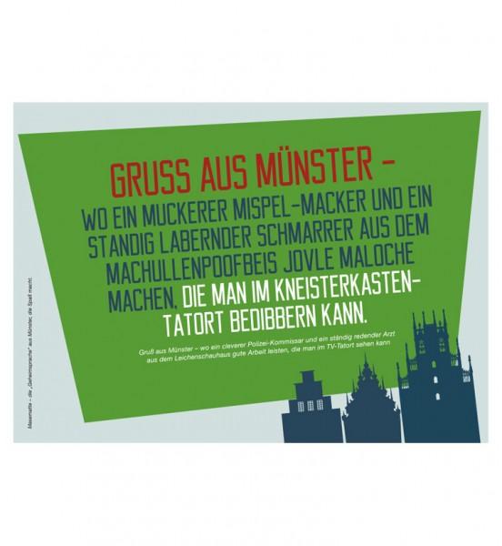 Gruss aus Münster - Wo ein muckerer Mispel-Macker