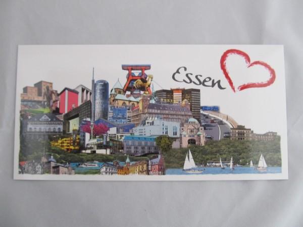 Postkarte- Essen
