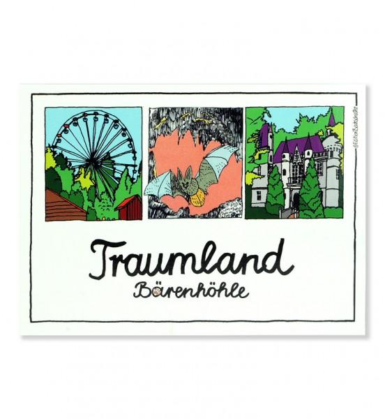 Postkarte - Schwäbische Alb - Traumland Bärenhöhle / Edition Bachschuster