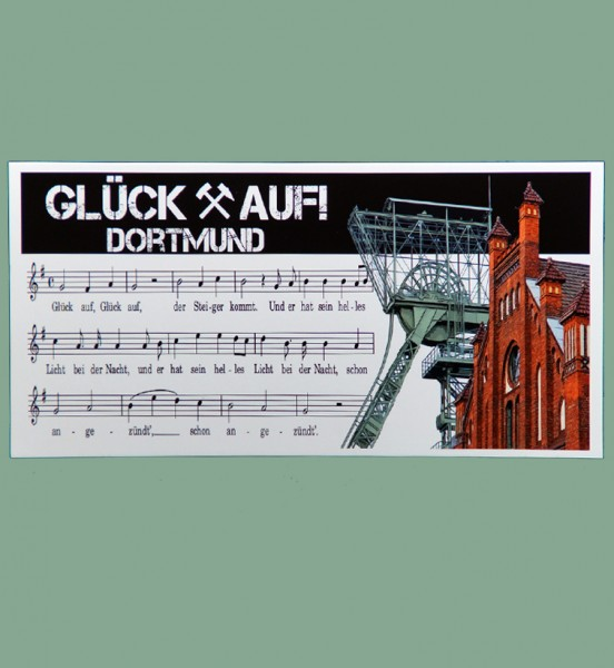 Panorama Grußkarte - Röttgers Glück auf Dortmund