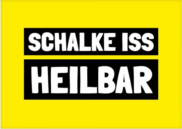 Frühstücksbrettchen - Schalke iss heilbar