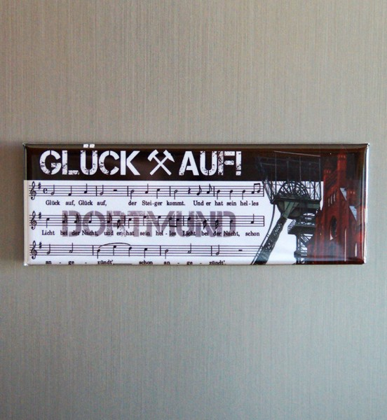 Magnet - Röttgers - Panorama Glück auf Dortmund