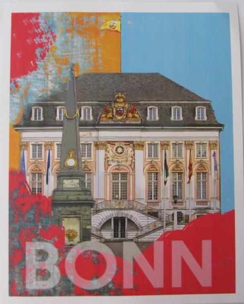 Miniposter mit Grußkarte - Röttgers - Bonn