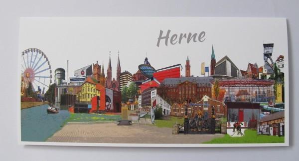 Postkarte- Röttgers -Din Lang Herne