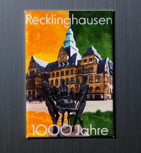 Magnet - Röttgers - 1000 Jahre Recklinghausen -Rathaus