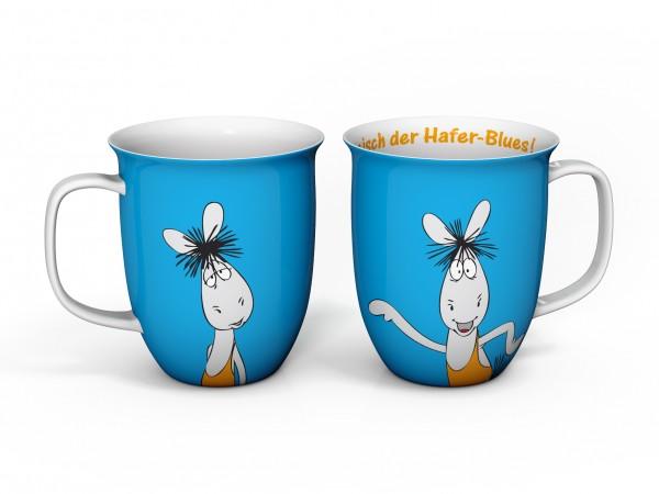 Kaffeebecher Äffle & Pferdle in blau