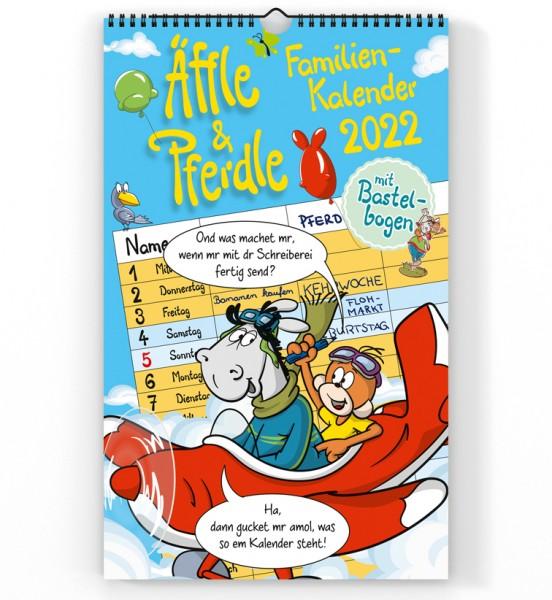 Äffle & Pferdle Familienkalender 2022