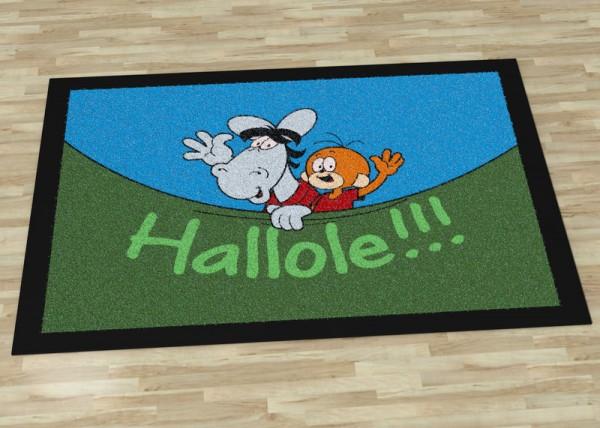 Äffle & Pferdle Fußmatte Hallole