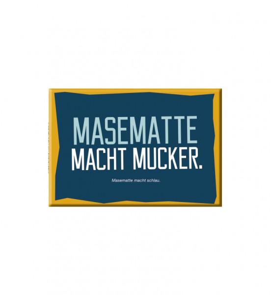 Magnet - Masematte macht mucker.